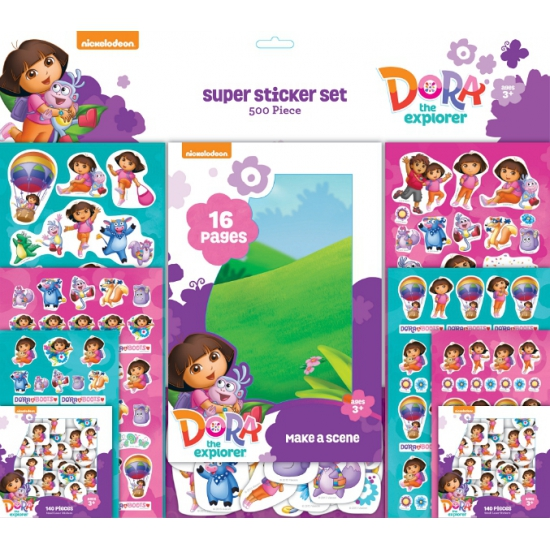 Kadostickers set Dora