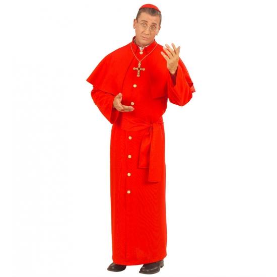 Kardinaal Carnavalskleding rood
