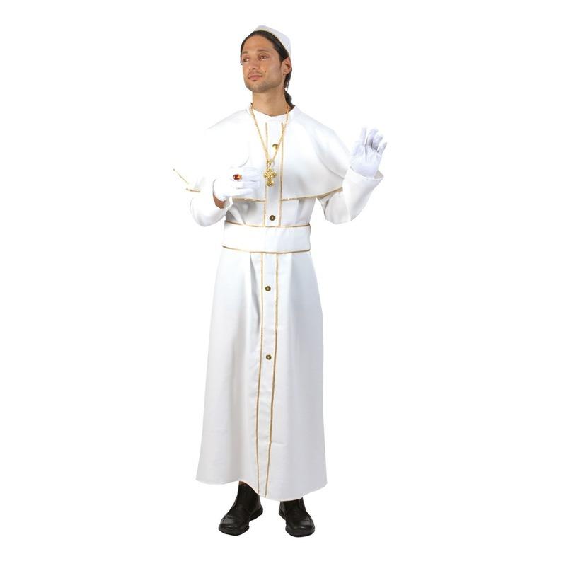 Kardinaals toga wit