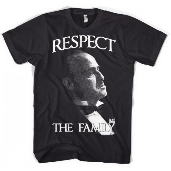 Katoenen T-shirt Respect the Family