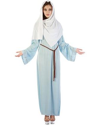 Kerst verkleedkleding Maria