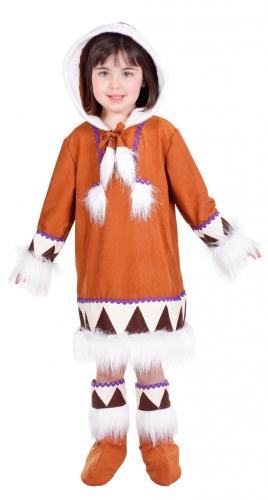 Merkloos Kids eskimo jurkje met laarshoezen