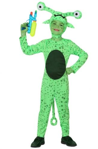 Kinder kostuum buitenaards wezen