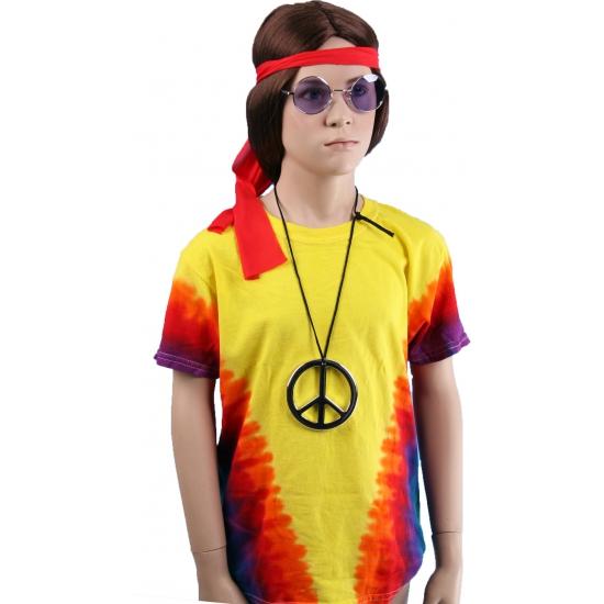 Kinder rainbow V t-shirt