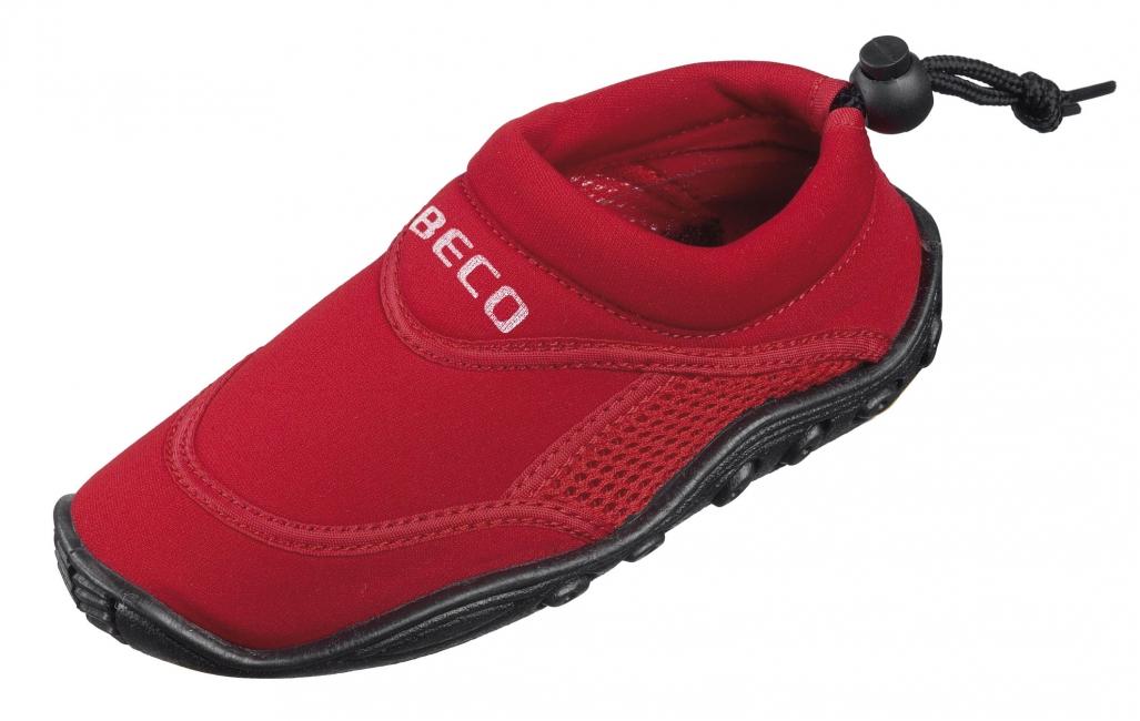 Kinder rode waterschoenen neopreen