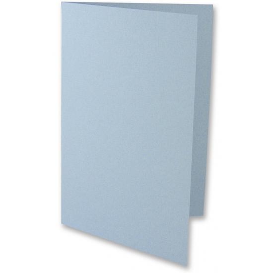 Knutsel kaarten lichtblauw 5 stuks