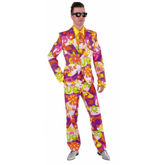 Kostuum carnaval flower love heren