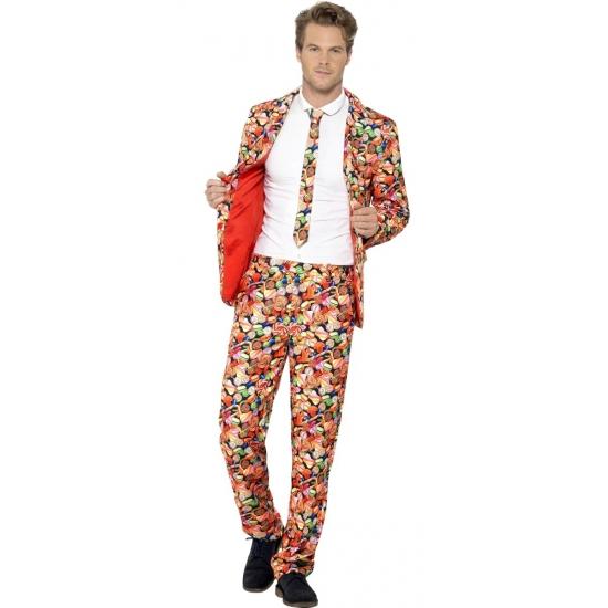 Kostuum carnaval snoep heren