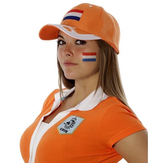 Landen vlag tattoo Nederland
