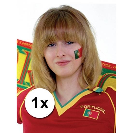 Landen vlag tattoo Portugal