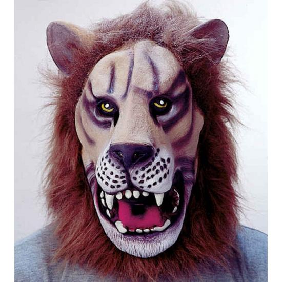 Leeuwen verkleed masker voor volwassenen