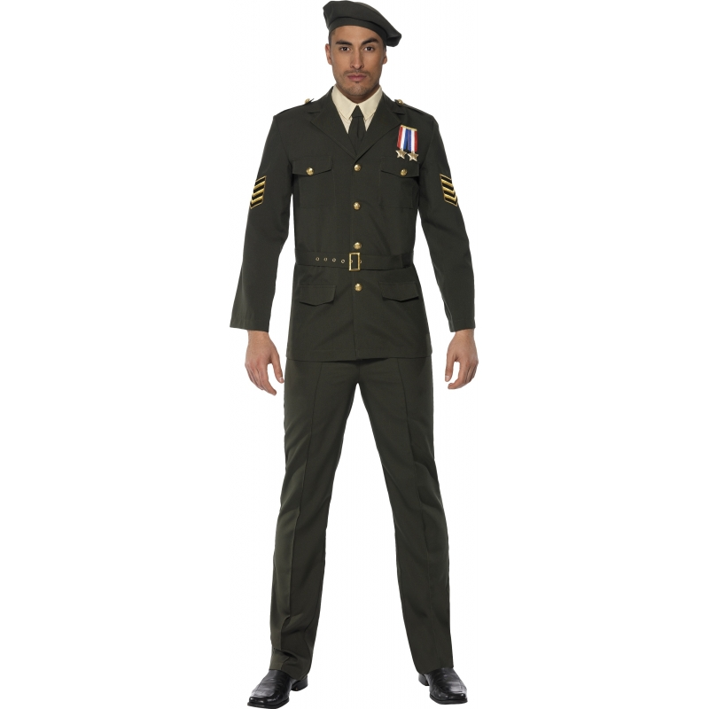 Leger officieren kostuum voor heren