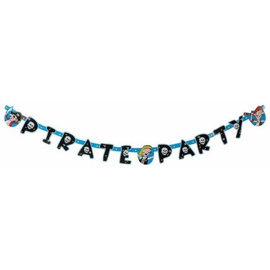 Letterslinger piratenfeestje