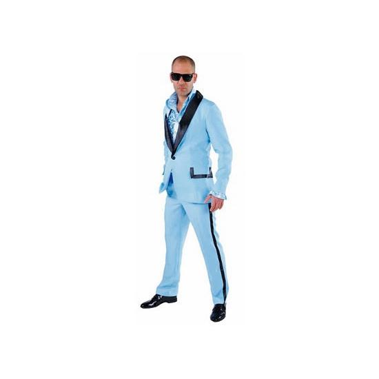 Lichtblauw Hollywood kostuum voor heren