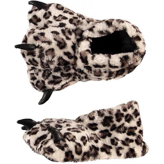 Luipaard klauw pantoffels kind