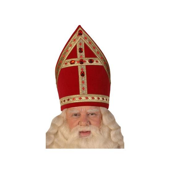 Luxe kokermijter Sinterklaas