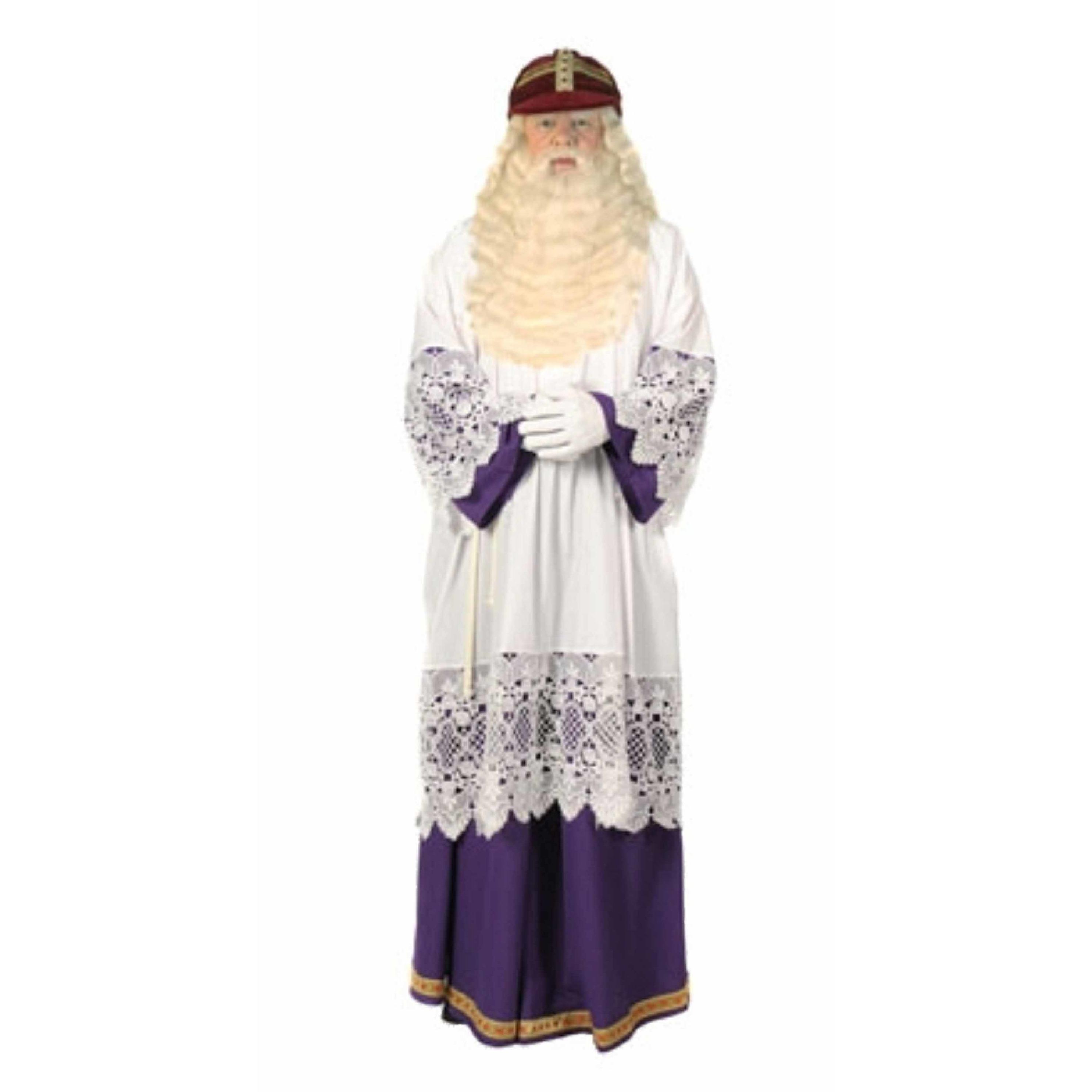 Luxe Sint habijt met rok