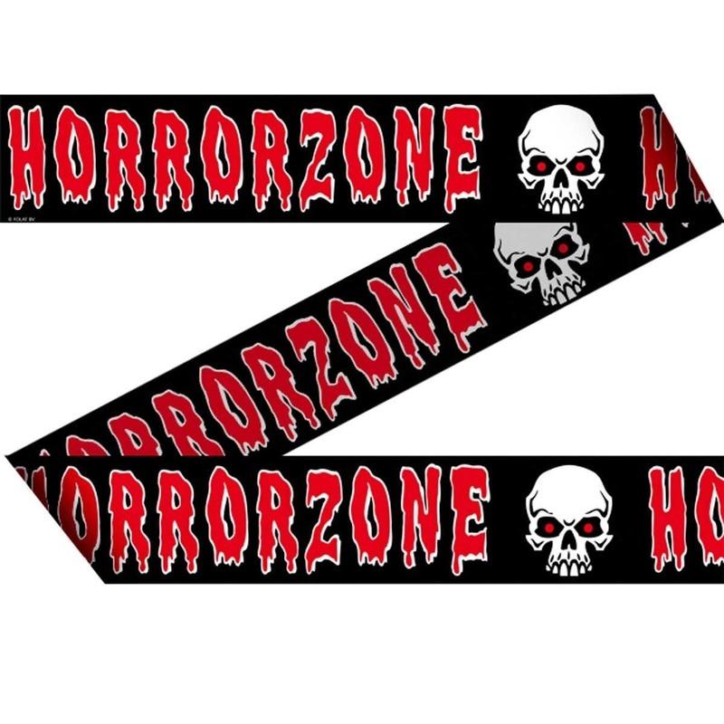 Markeerlint/afzetlint Horror zone 15 meter