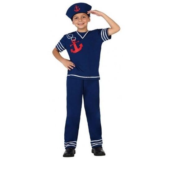 Matrozen verkleed kostuum voor jongens