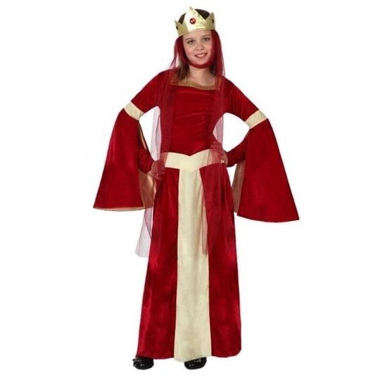 Middeleeuwse prinses/koningin Eleanor voor meisjes