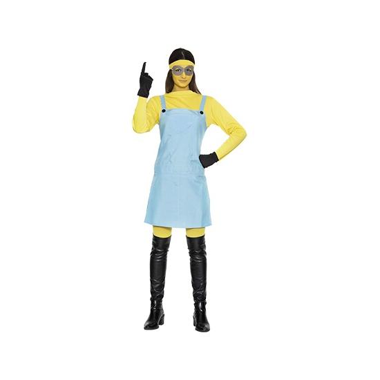 Mini cartoon karakters dames verkleedkostuum