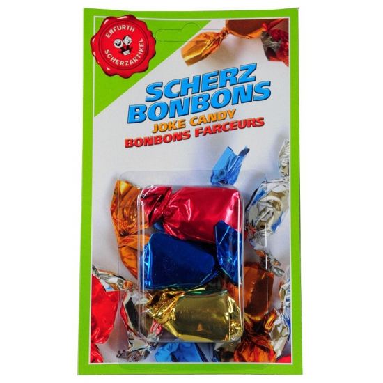 Mix set fun bonbons 3x stuks - Fopartikelen vieze snoepjes