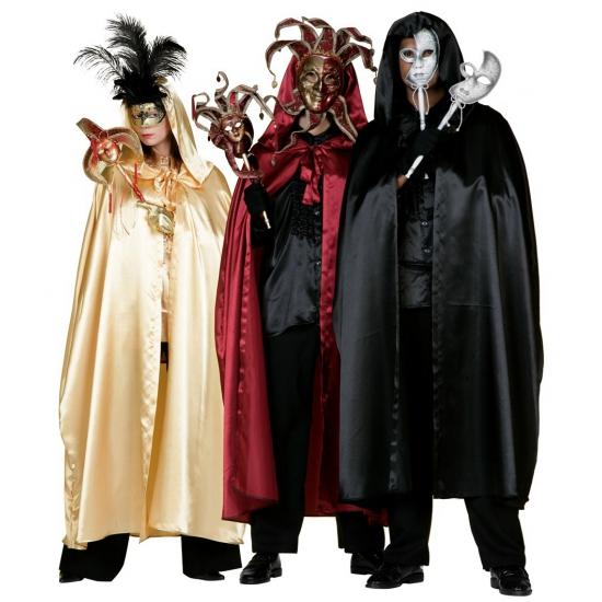 Mystieke rode tovenaars mantel voor volwassenen