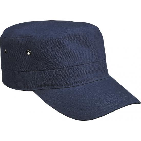 Navy blauwe militairy caps