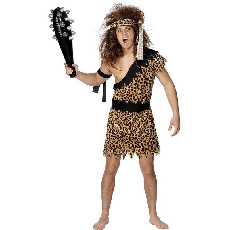 Neanderthaler kostuum voor heren