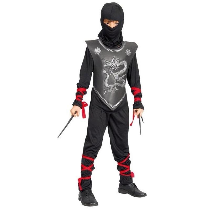 Ninja verkleed pak voor kinderen