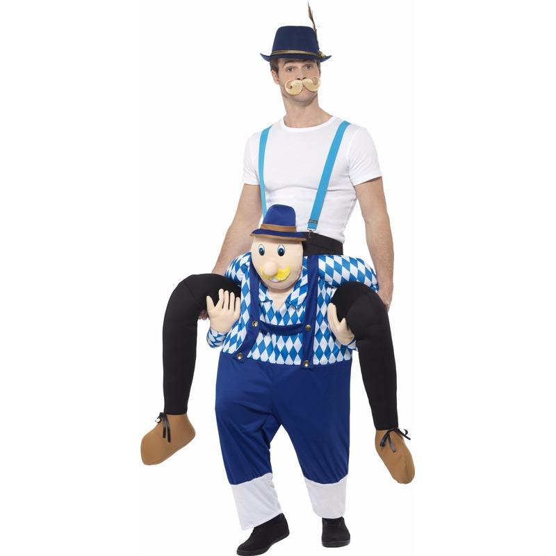 Oktoberfest - Verkleedkostuum man op Bayerische man
