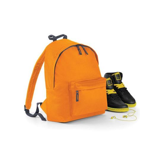Oranje polyester rugtas voor kids