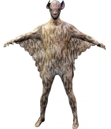 Originele morphsuit vleermuis voor kinderen