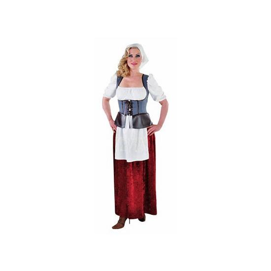 Ouderwets boerinnen jurk voor dames