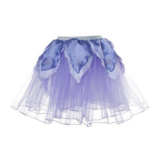 Paars petticoat/tutu rokje voor meiden