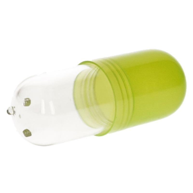 Pillendoos bewaardoos 12 cm pil groen