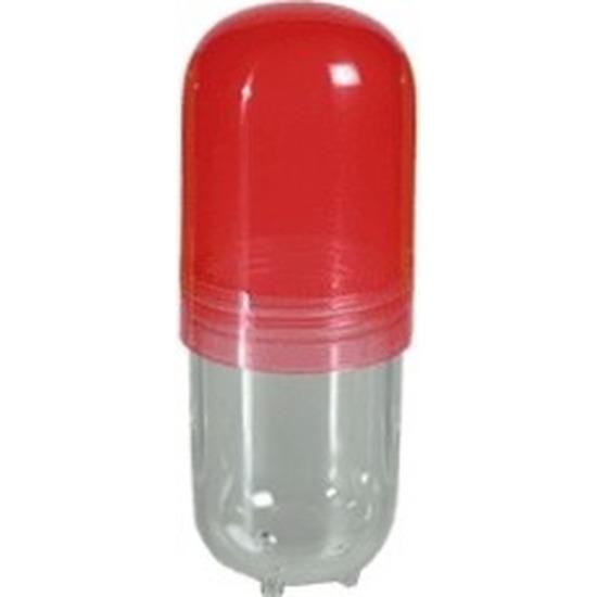 Pillendoos bewaardoos 12 cm pil rood