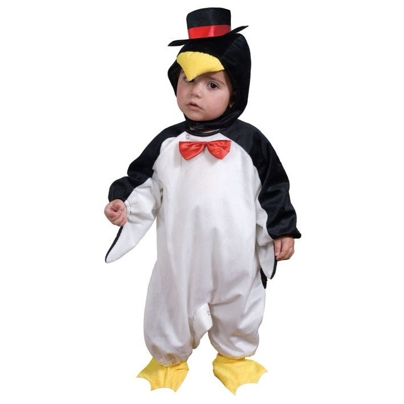 Pinguin outfit voor peuters