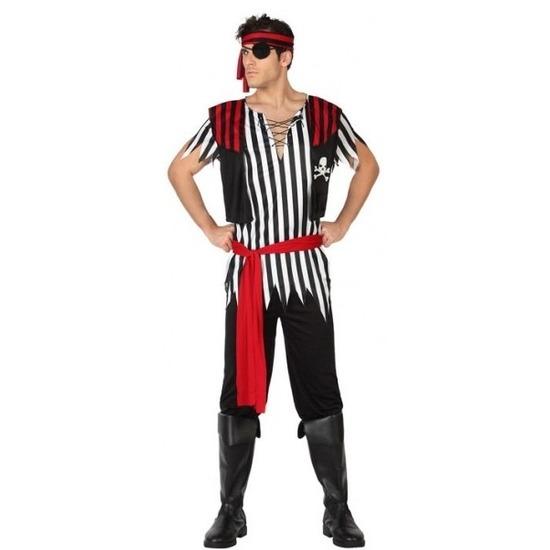 Piraat Jack verkleed pak/kostuum voor heren