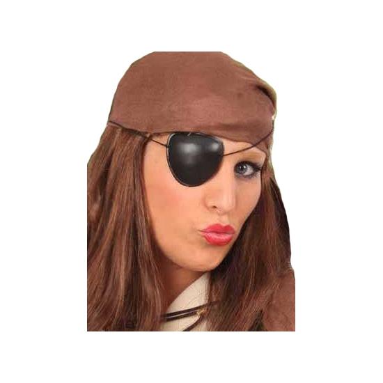 Piraten ooglapje zonder opdruk