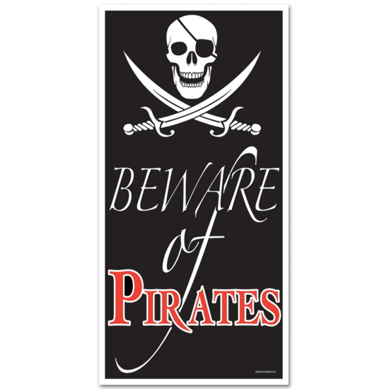 Piraten thema decoratie 150 cm