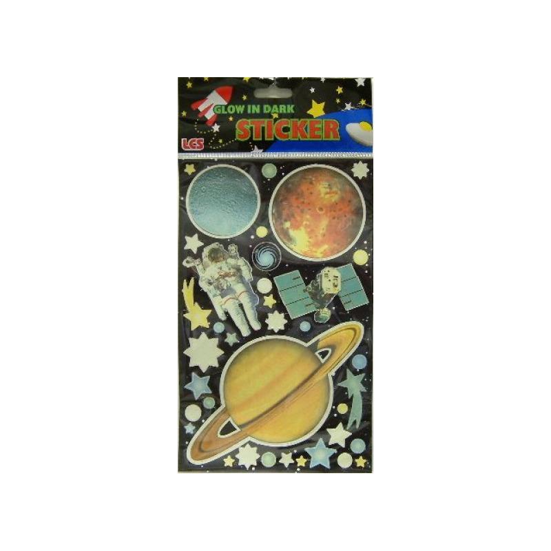 Planeten en heelal stickers