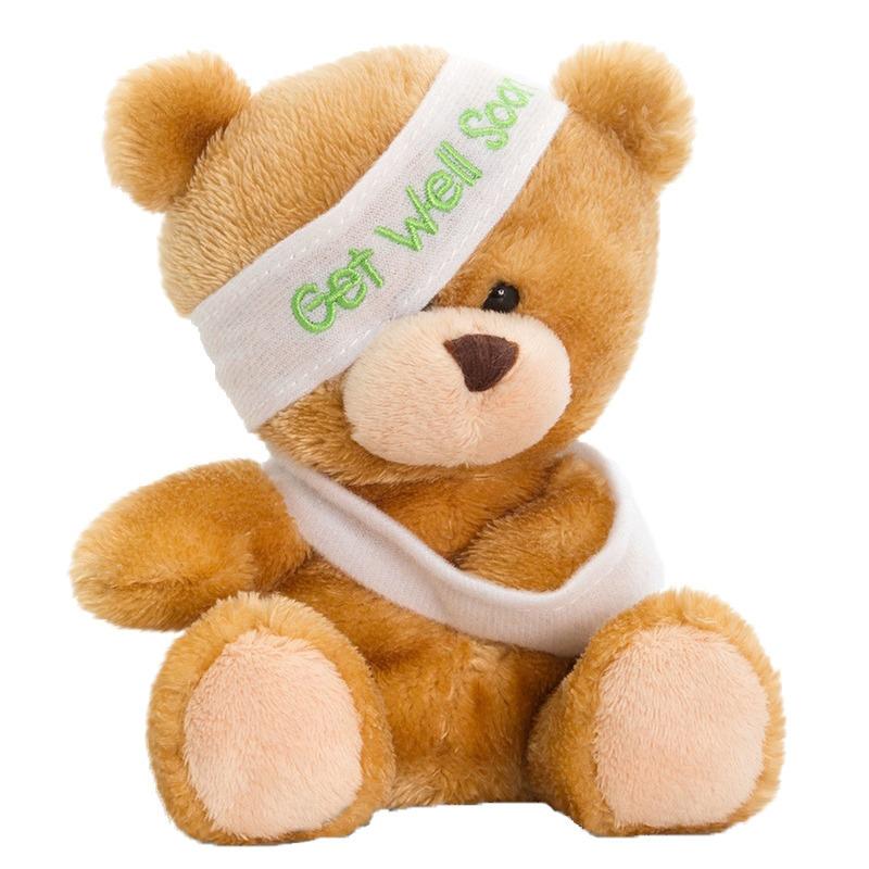 Pluche beterschap beer/beren knuffel 14 cm speelgoed