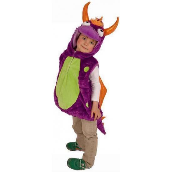 Pluche draken kostuum voor kinderen