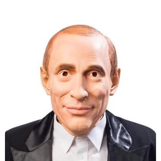 Poetin verkleed masker voor volwassenen