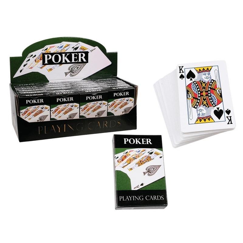Poker speelkaarten 54 stuks