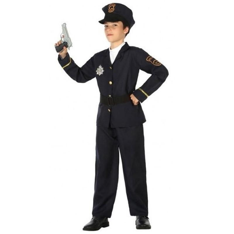 Politie agent pak - verkleed kostuum voor jongens