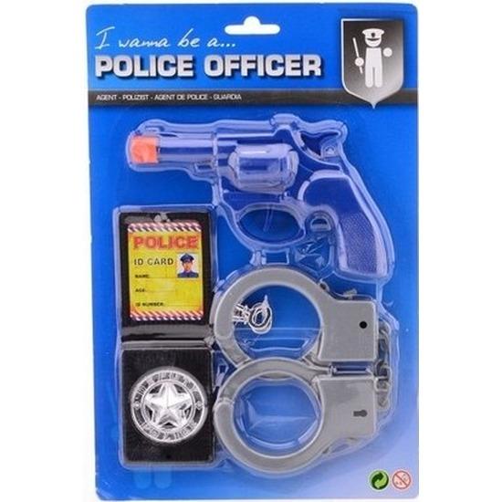 Politie speel setje kids