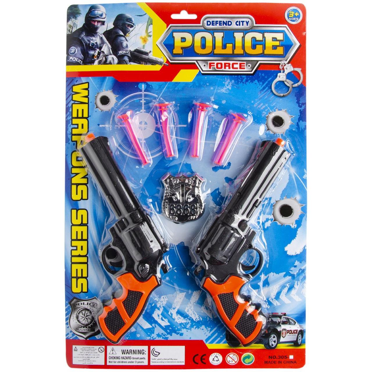 Politie speelgoed set 7-delig voor kinderen