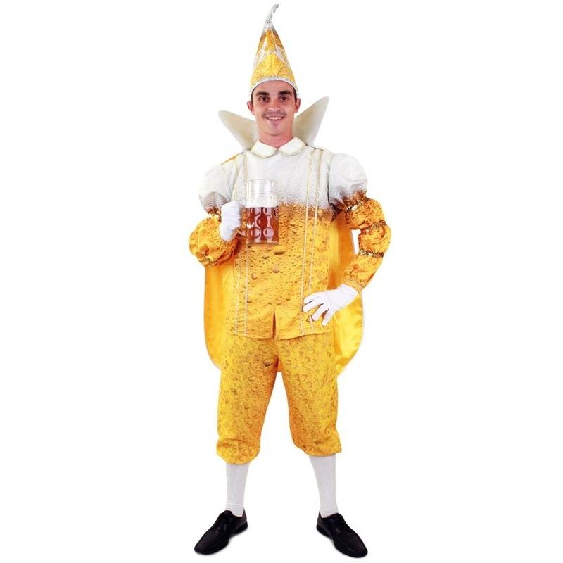 Prins Carnaval pils/bier kostuum voor heren